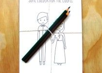 Free Wedding Game Printables for The Little Ones