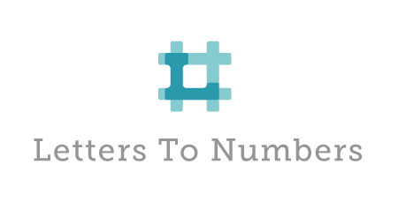 Letters to Numbers Logo