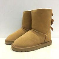 2016 Nowy Wysokiej Jakosci Damskie Buty Zimowe Damskie Slodkie Luk Buty Ug Australia Snow Boots Boots Ugg Boots Shoes
