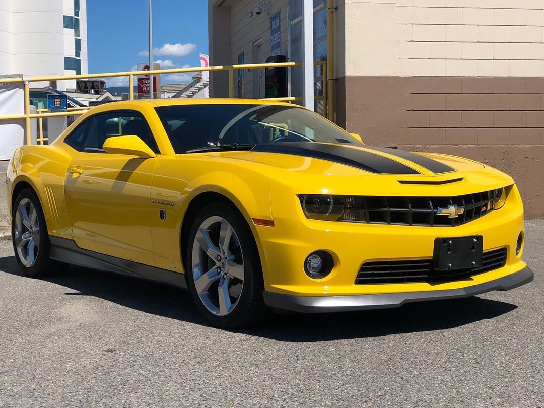 Bumblebee Is That You Yes We Have A Yellow 2010 Camaro 2ss