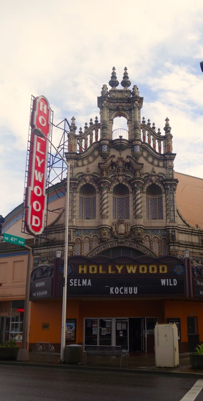 Lovely Dinner At Pono Farms Soul Kitchen And A Movie At The Hollywood Theater.