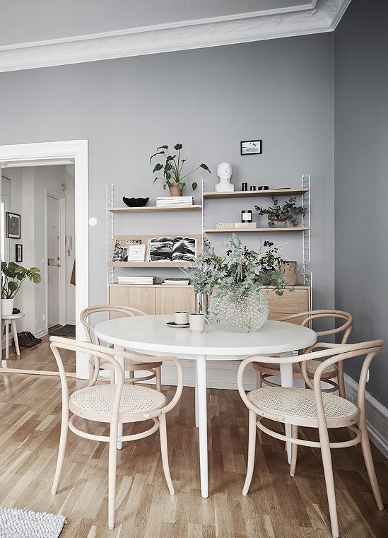 Home In Grey With Images Apartment Decor Apartment Decorating