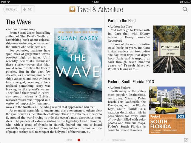 Books in Flipboard