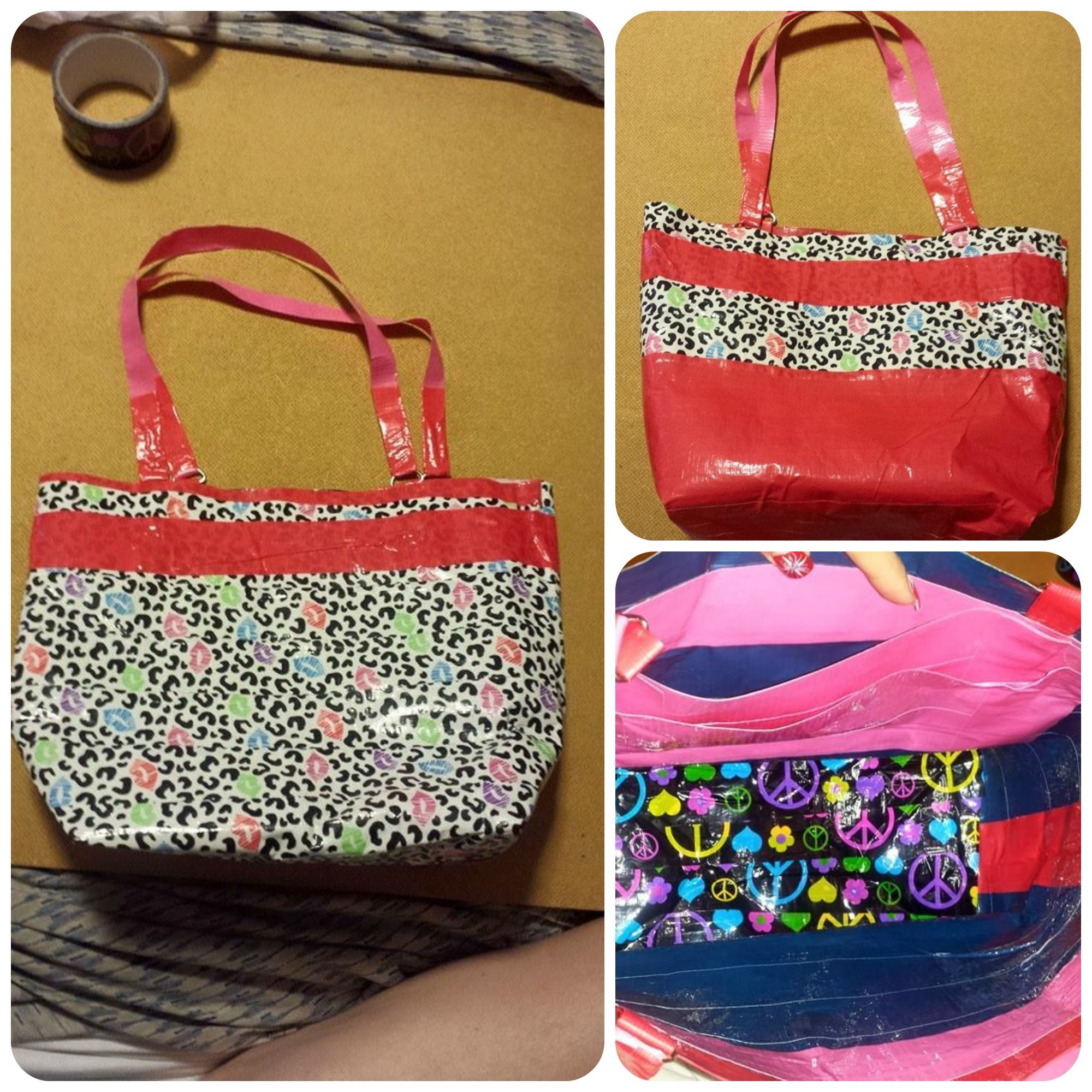 My Duct Tape Purse I Made With Duct Tape From