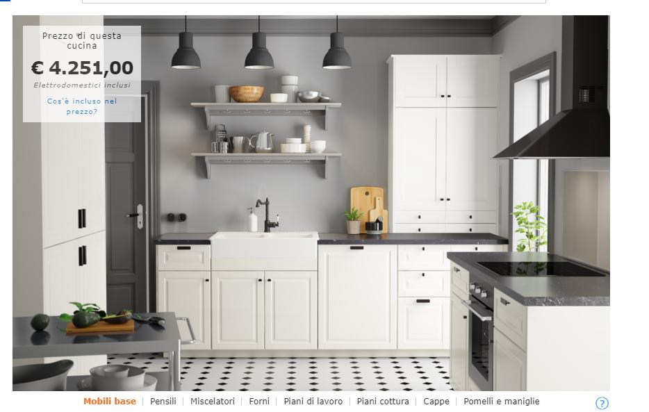 Cucina Bobidyn Configurata A Nostro Gusto Cambiare Lavello Lampade E Mensole Il Frigo E La Lavasto Progetti Di Cucine Interni Della Cucina Idee Cucina Ikea