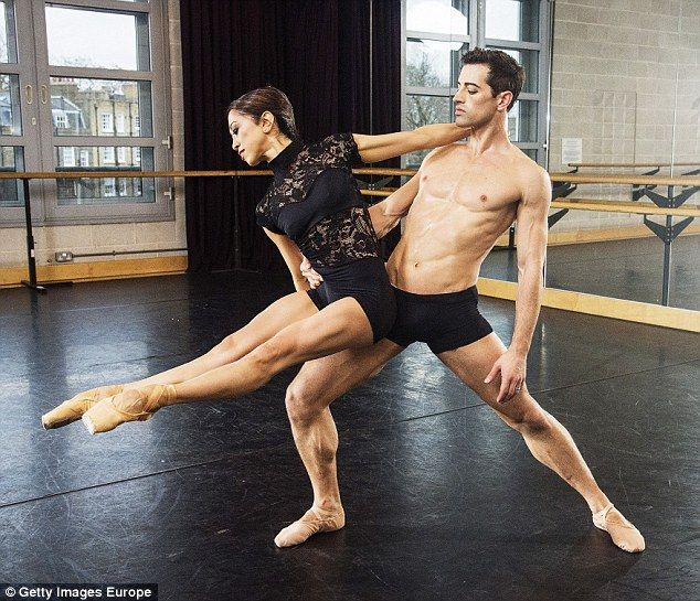 The English National Ballet Stars Performed The Routine As -7790
