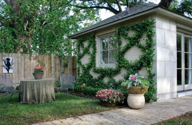 Déco mur extérieur jardin : 51 belles idées à essayer   Deco