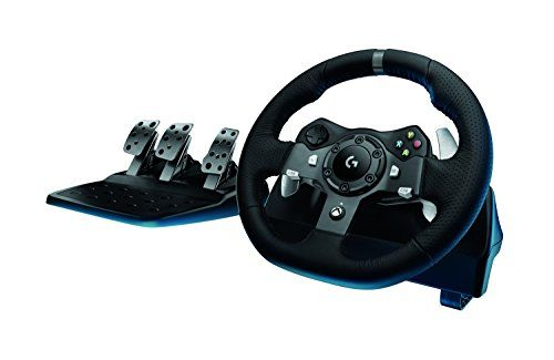 Logitech Driving Force G920 Racing Wheel Force Feedback Steering Wheel To View Further For This Item Visit The I Racing Wheel Steering Wheel Cover Logitech