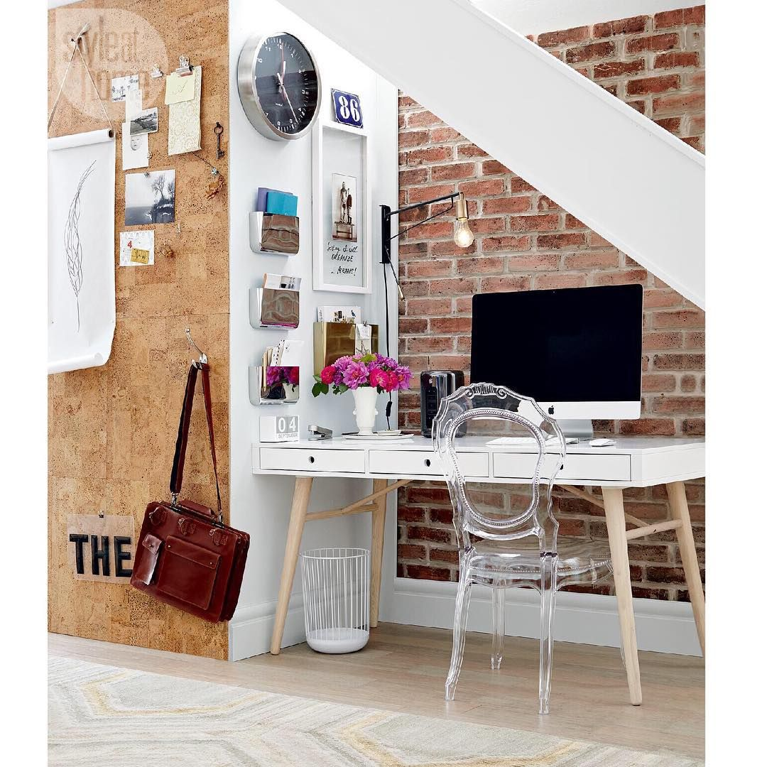 Small Space Homeoffice Corner Desk: Best Home Office Desk , Cozy Home Office , Cheap