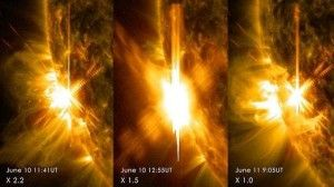NOAA Warning: Trio of X-Class Flares Have Triggered a CME ...