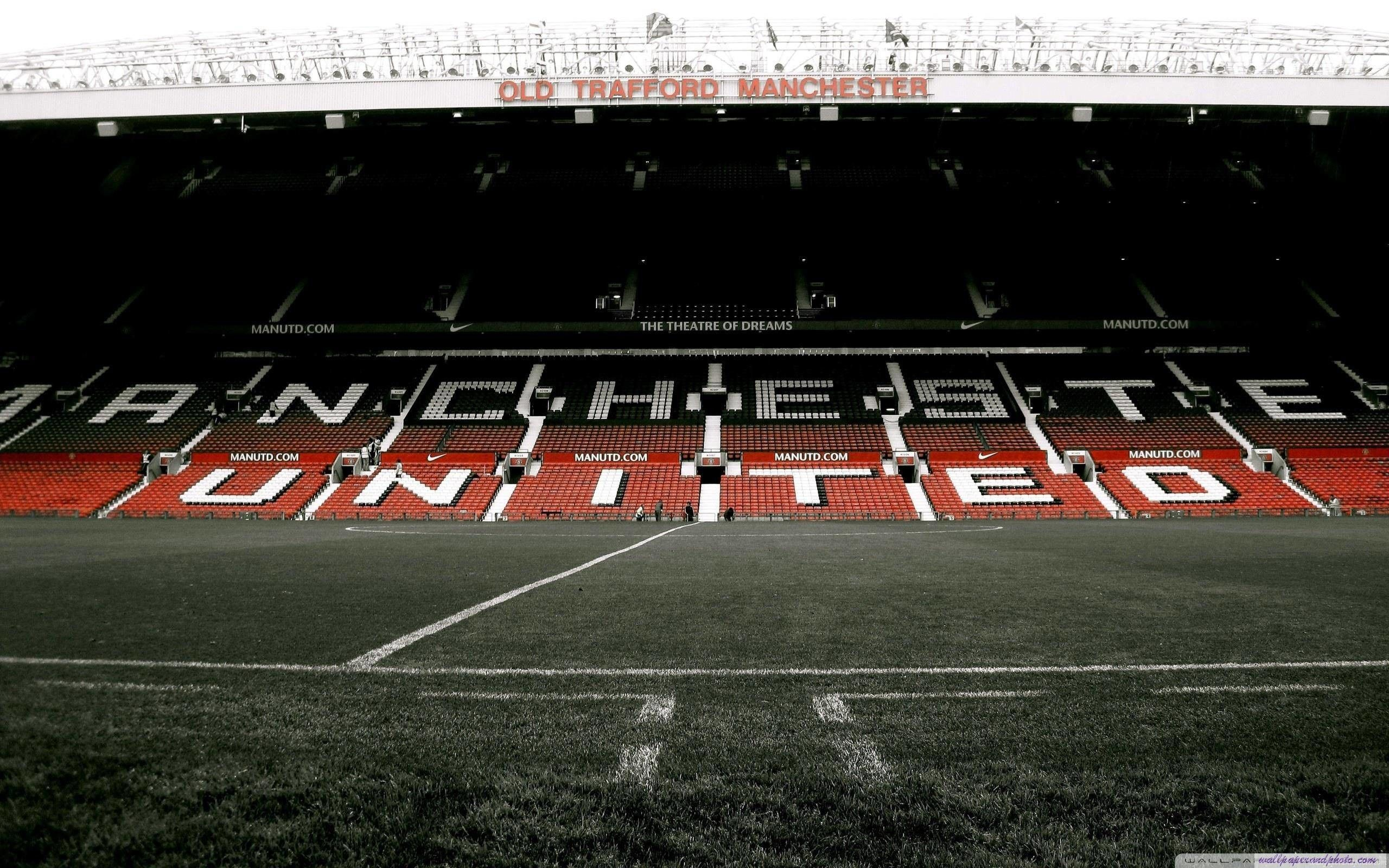 2560x1600 Manchester United Stadium Hd 16 9 16 10 Desktop Wallpaper High Manchester United Wallpaper Manchester United Stadium Manchester United Logo