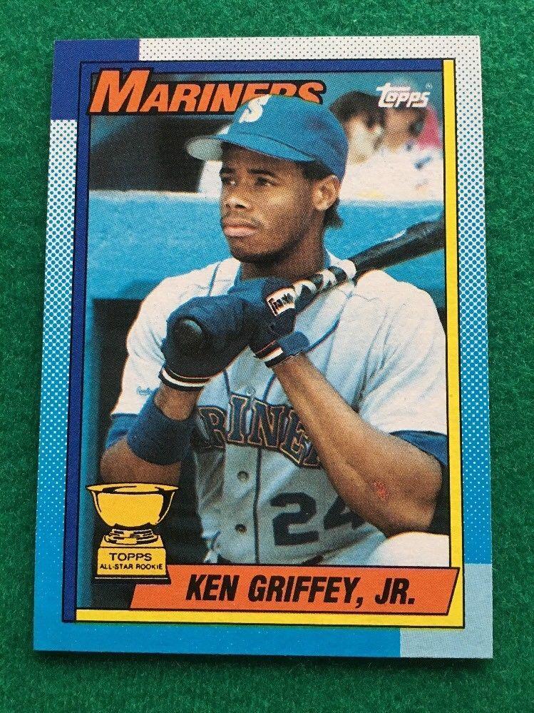 1990 topps baseball 336 ken griffey jr seattle