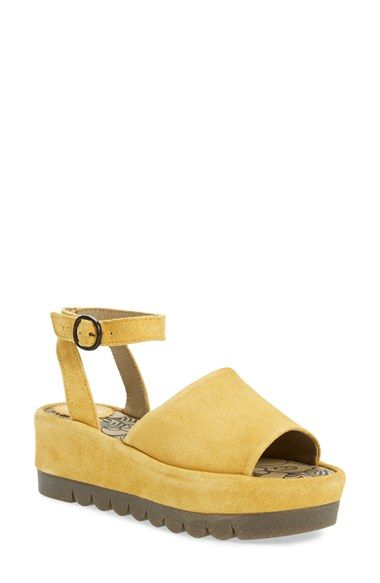 1edc4de65a9cf Fly London 'Booz' Ankle Strap Platform Sandal (Women) available at # Nordstrom