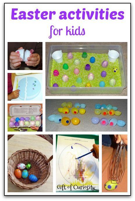 attività di Pasqua per i bambini