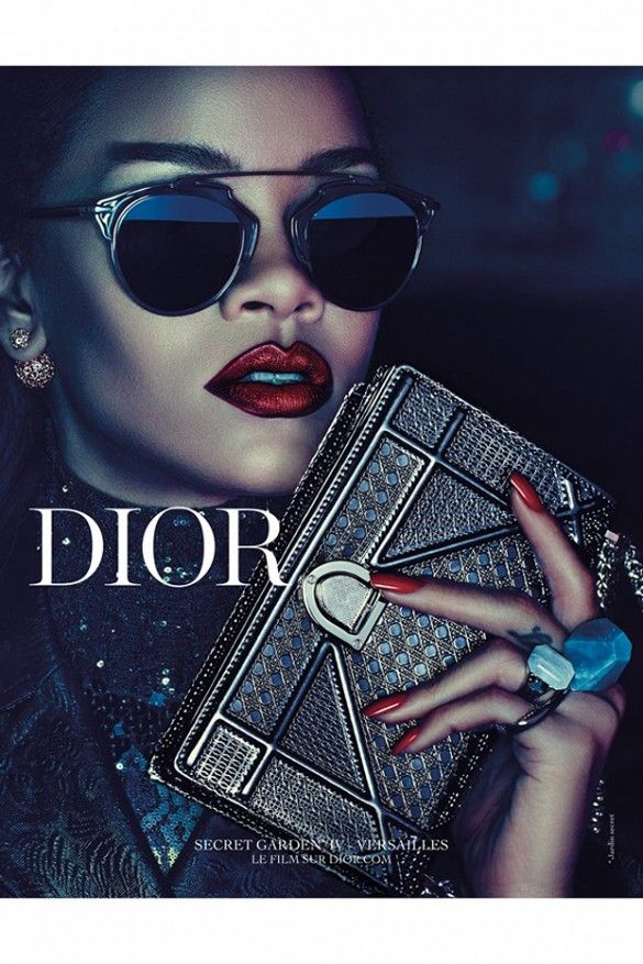76ea2df75f It s Finally Here! See Rihanna s Full Campaign for Dior