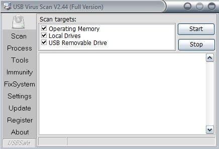 usb drive antivirus key