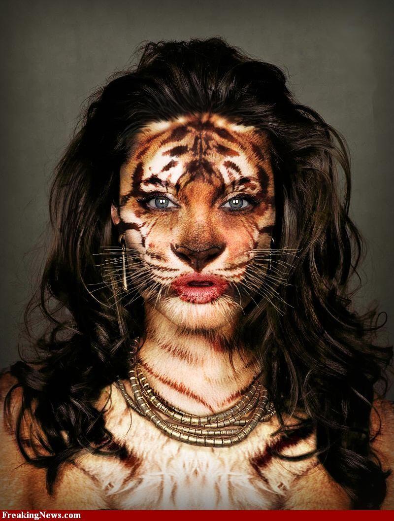 Картинки тигра на аву для девушек