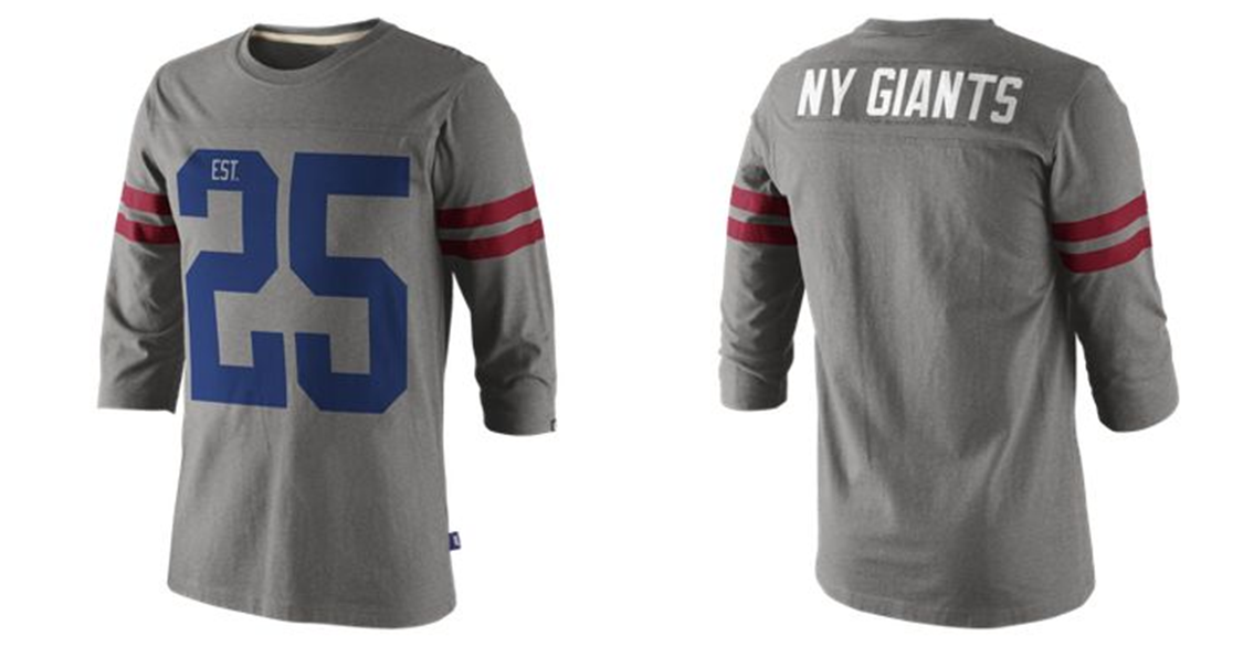 Nike 1925 Football NFL New York Giants