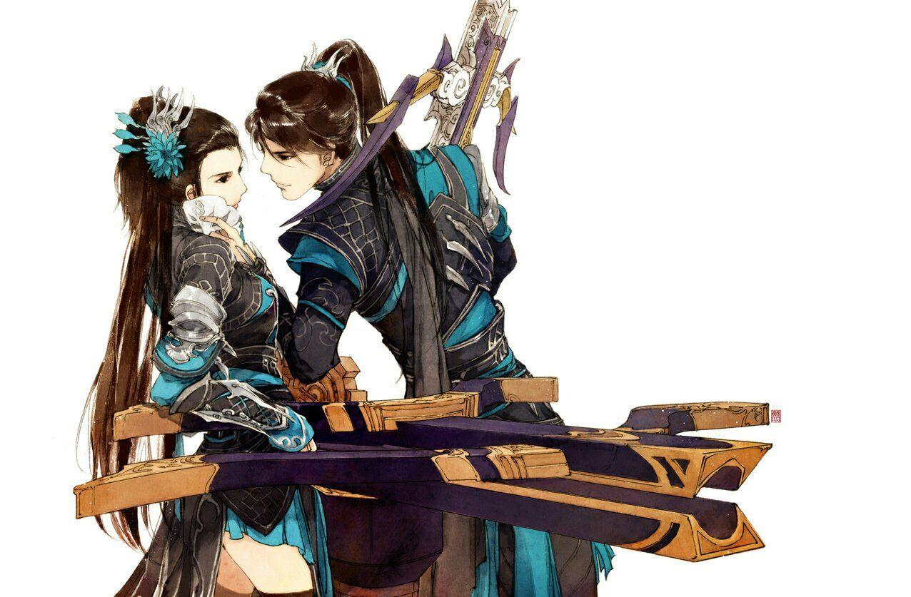 Couple các môn phái Kiếm Tam qua tranh của Y Xuy Ngũ Nguyệt