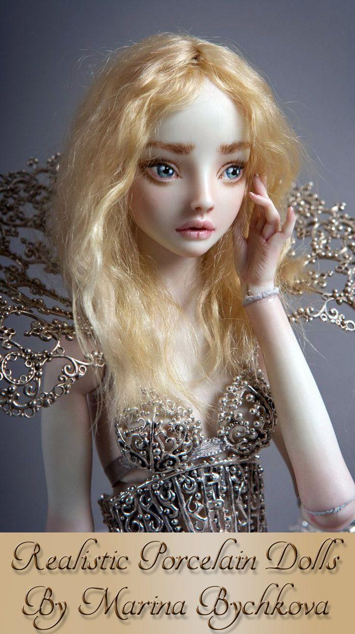 realistic porcelain dolls by marina bychkova porcelain doll