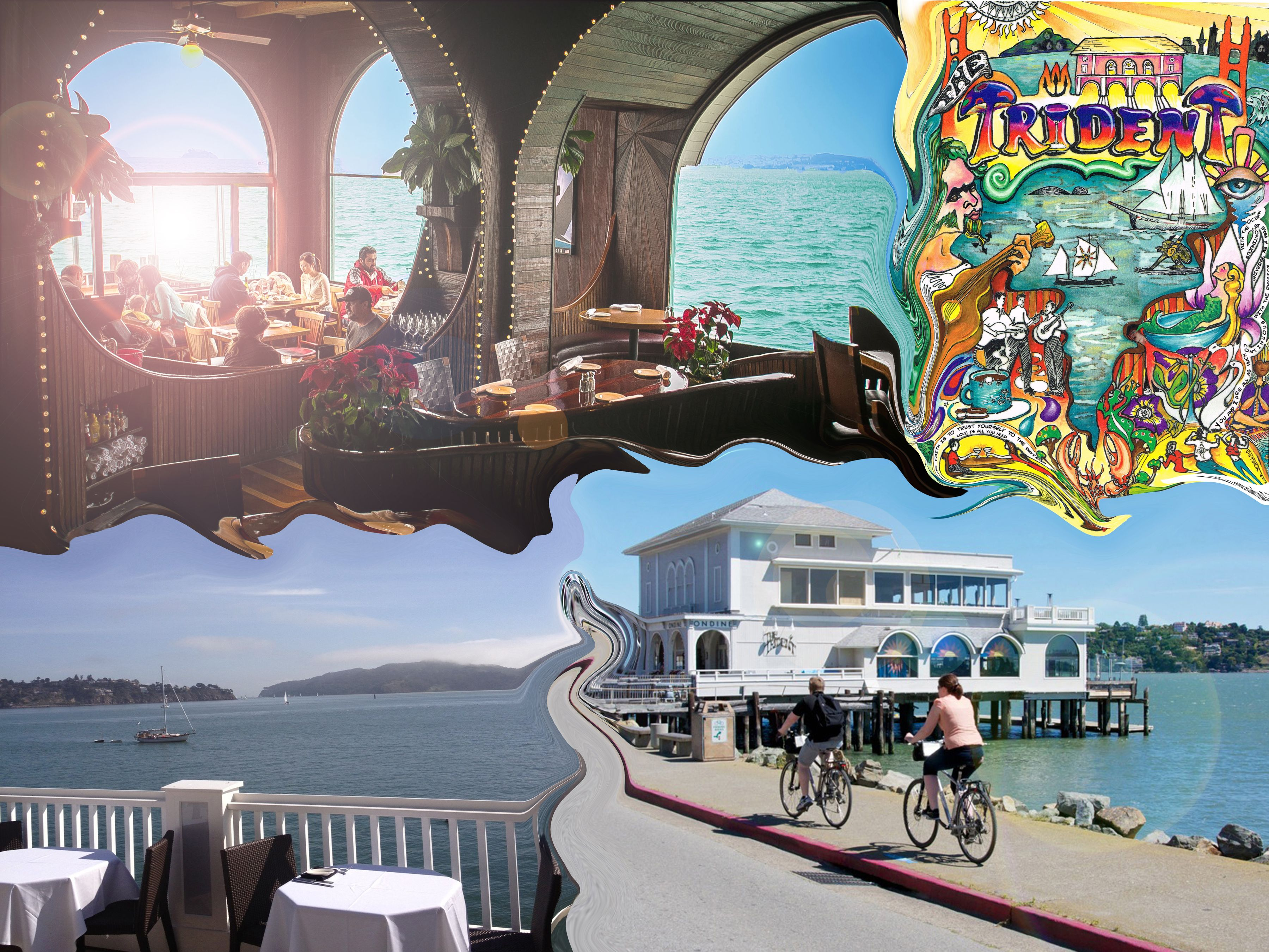The Trident A Beautiful Restaurant Right On The Water In Sausalito