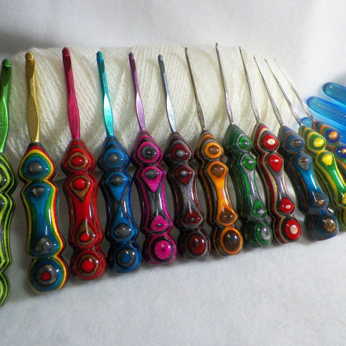 OOAK Crochet Hook Boye Crochet Hook Steel Crochet Hook Thread Crochet Hook Boye Thread Crochet Hook Size 9 Crochet Hook Crochet Hook