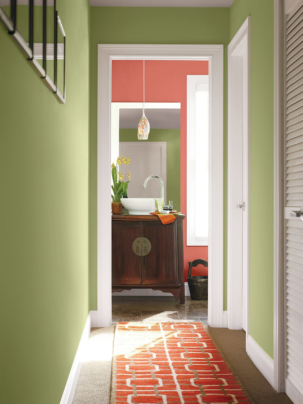 Coral Painted Rooms Connecting With Color Local Pros Share Their Tips And Secrets For