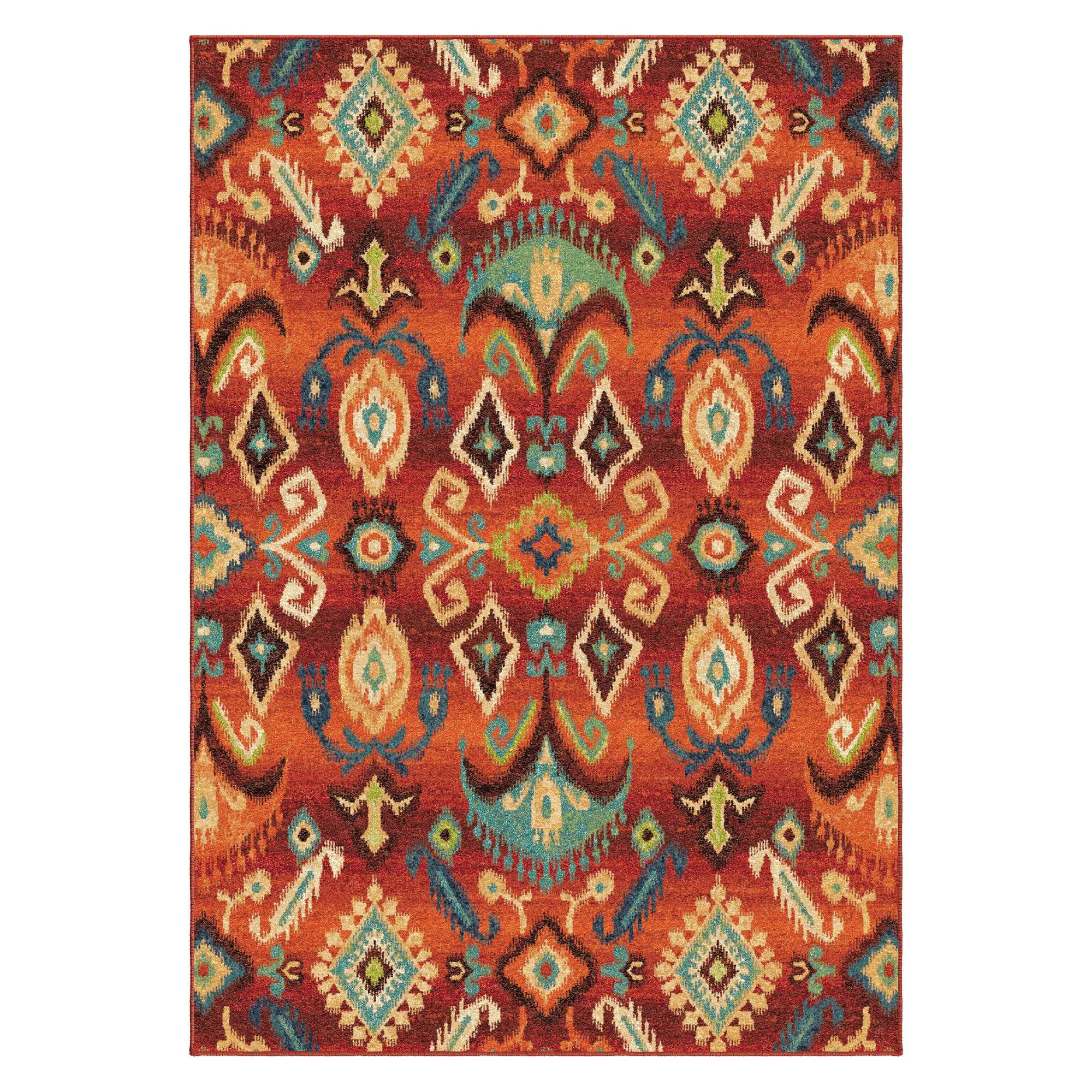 Monica Masquerade Area Rug Red 6 7 X9 8 Area Rugs Rug Stain Target Rug