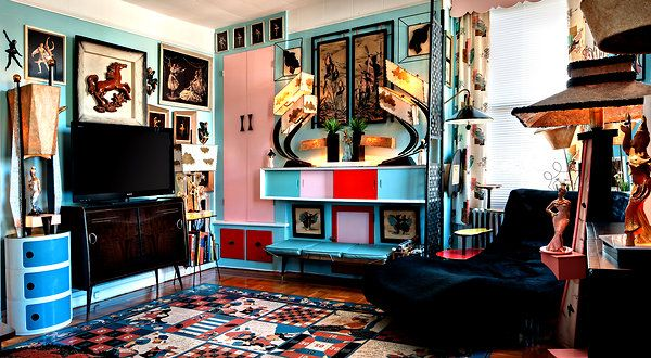 A Collector Of U002750s Décor Finds An Apartment To Match