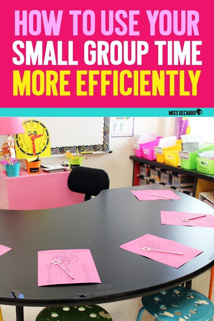 Small Group Warm Ups To Maximize Time at the Table is part of Classroom management elementary - Use warm up activities to maximize your time at the small group table  Miss DeCarbo shares ideas for increasing instructional time for small group reading