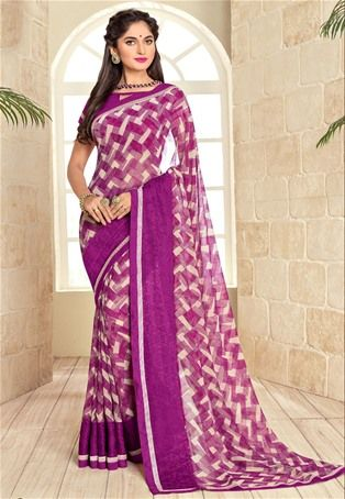 3ead7e1008 Beauteous navy blue bandhej printed festive wear designer saree ...