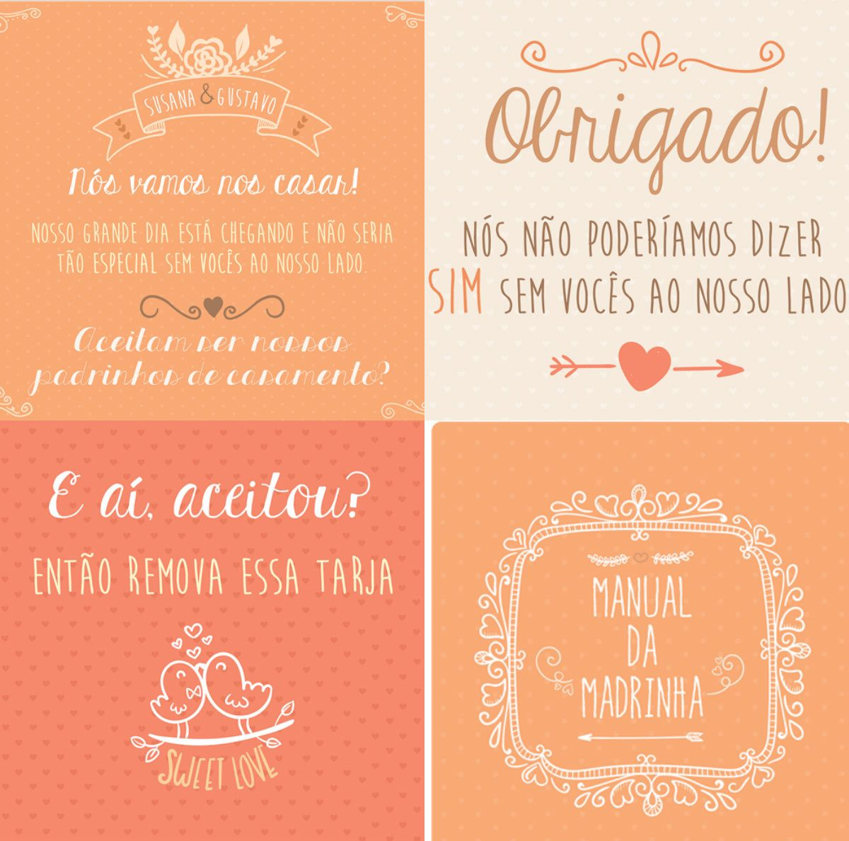 Arte Para Convite Dos Padrinhos De Casamento Convite Padrinho