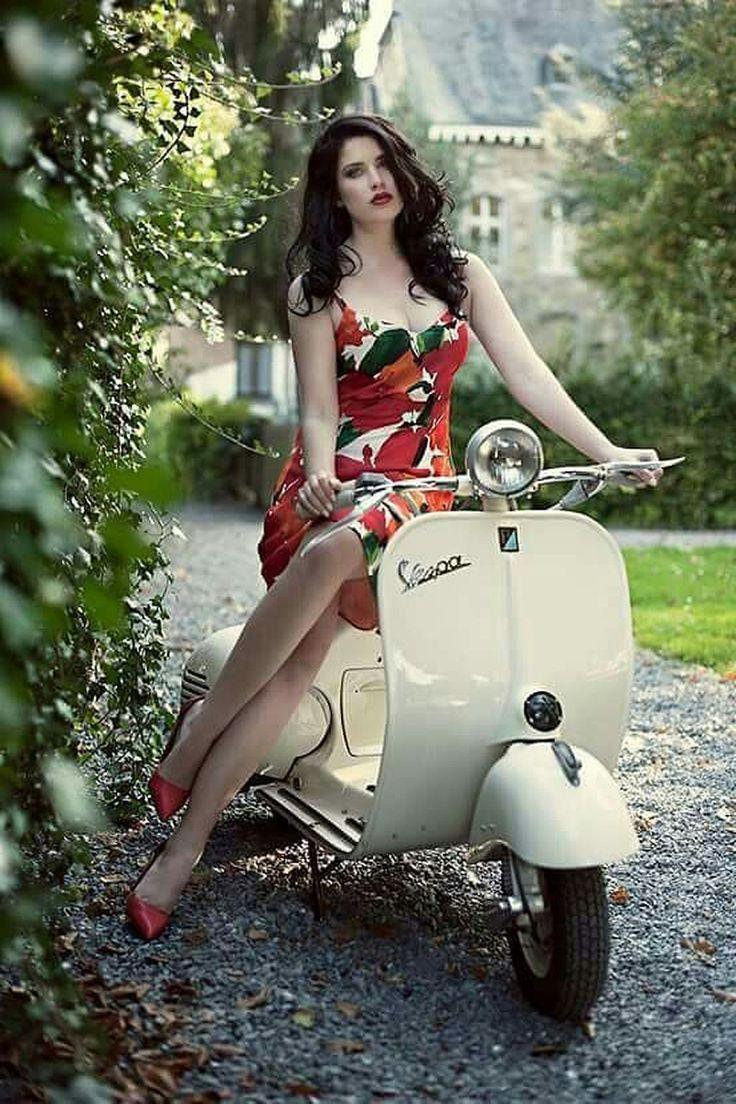 Beautiful Scooter Girl Vespas – #Beautiful #Girl #Scooter #Vespas – #Beautiful