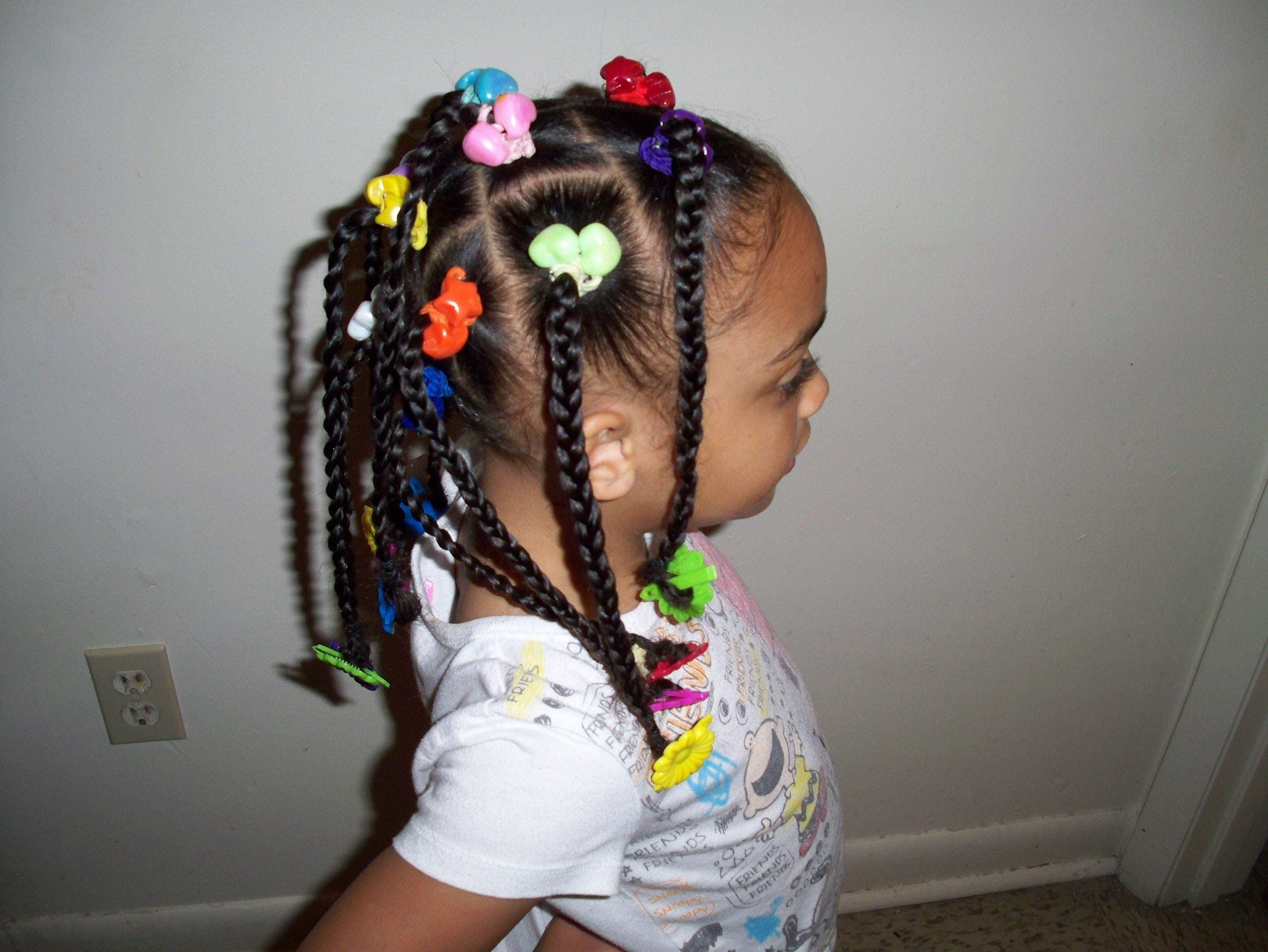 Cute easy hairstyles that kids can do - Just Thought I Would Share The Cute Kids Hairstyles I Do To My Daughters Hair And