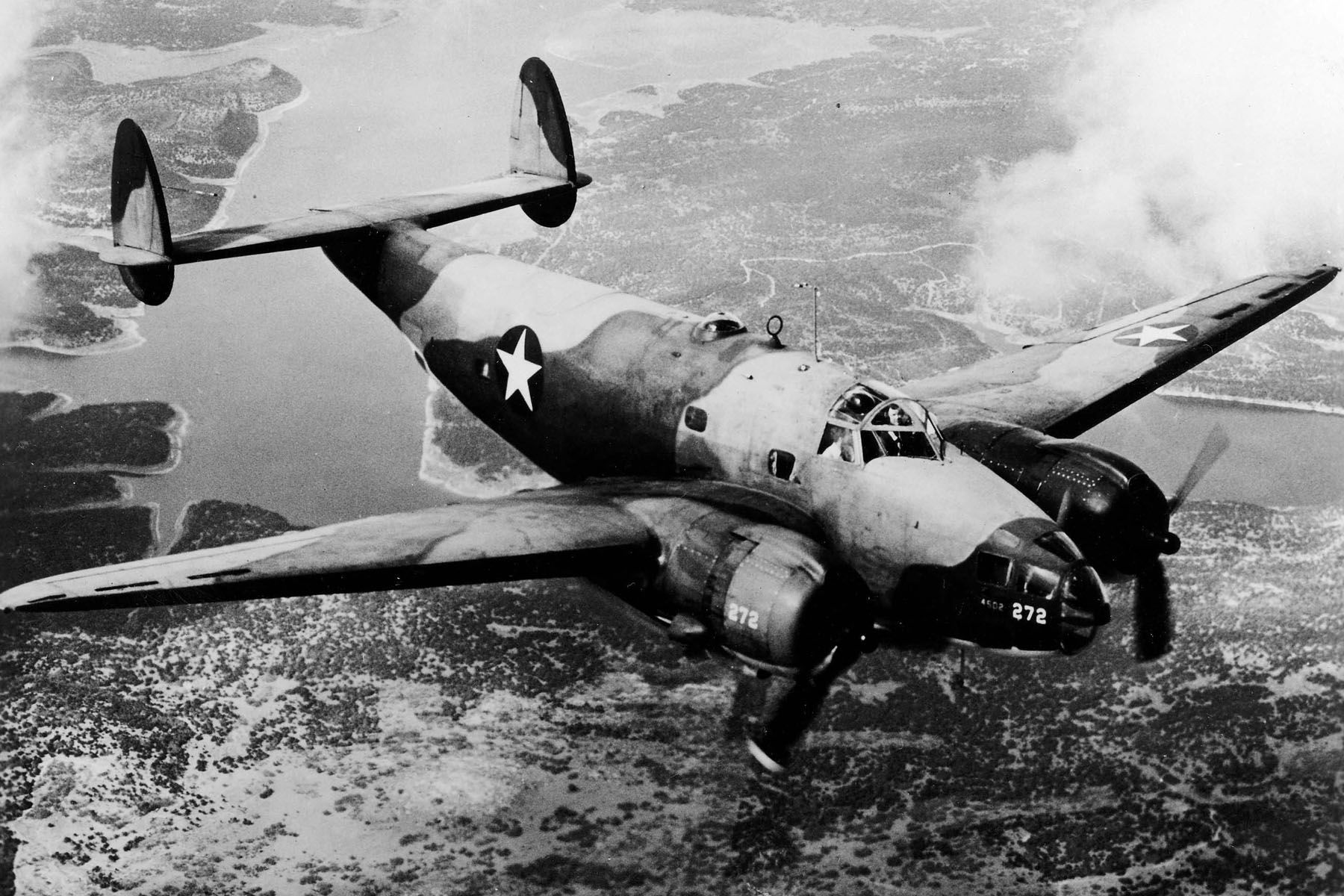Lockheed B-34 USAAF in flight - Lockheed Ventura - Wikipedia, the free encyclopedia