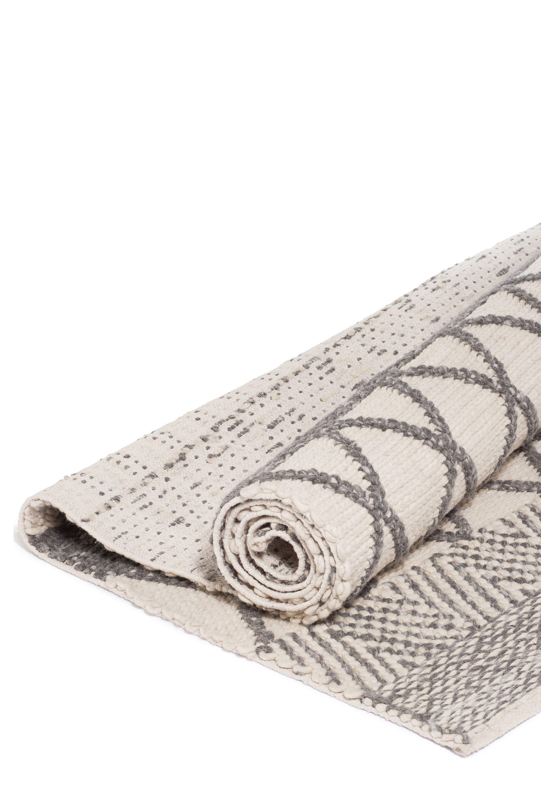 Lombok Nandak Hand Woven Rug Grey