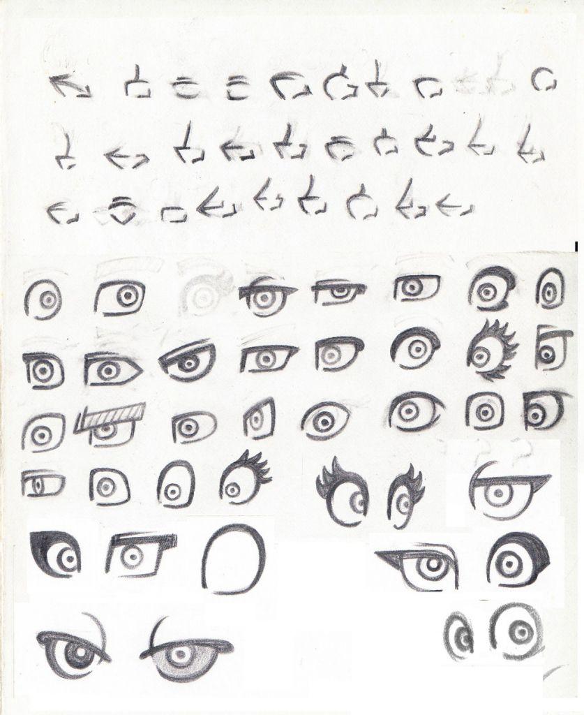 Different Anime Eye Styles Manga Eyes Eye Drawing Anime Drawings