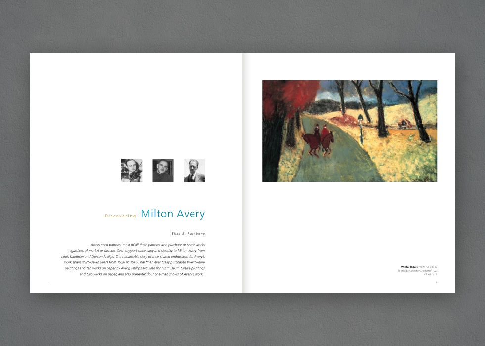 Discovering Milton Avery Art Book designed by Splice ...