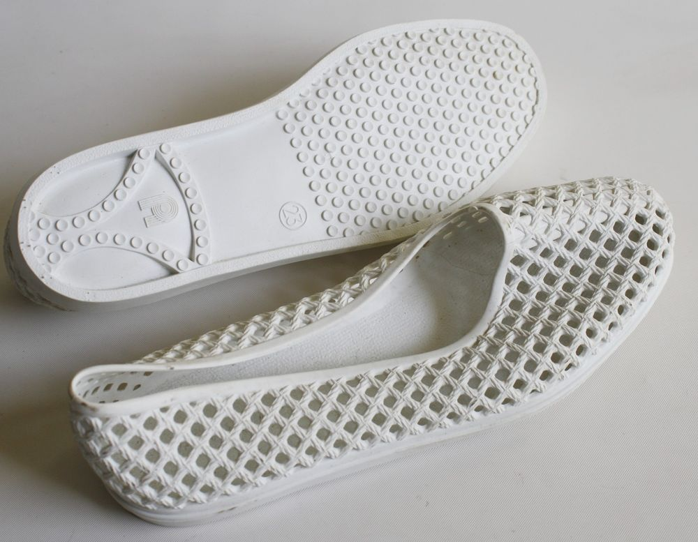 Femme BadeChaussuresBade Sandale Gr Original Ddr ChaussuresPvc Tc35KF1lJu