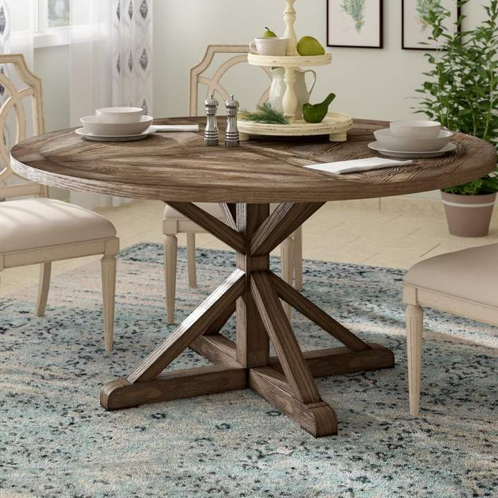 Birch Lane Heritage Wrens Solid Wood Dining Table Dining Table