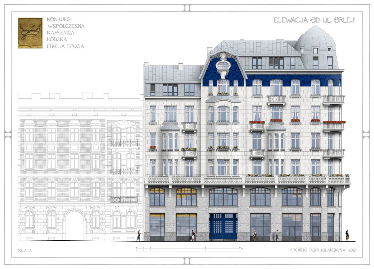 House design competition - Elevation Drawing For The Contemporary Tenement House Design Competition 2nd Edition Organised By The
