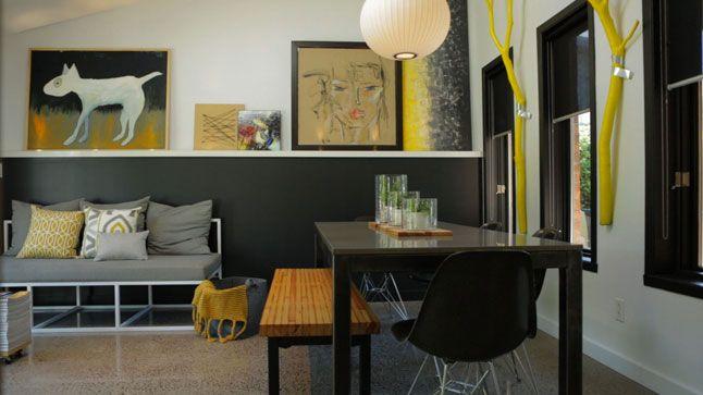 Un salon et une salle à manger design Room inspiration and Room - salle a manger design moderne