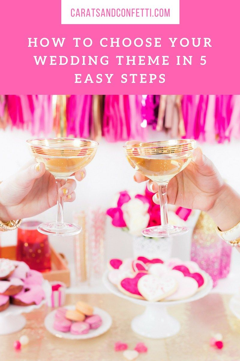 How To Choose Your Wedding Theme In 5 Easy Steps Wedding Planning