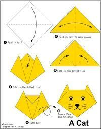 Origami Animal Faces Cat