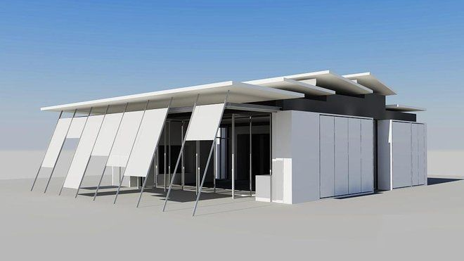 La maison de demain, en construction à Bordeaux