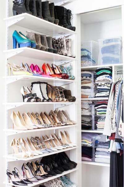 2d7bb9c6e Blog Just Lia | Lia Camargo | décor | Prateleiras para sapatos ...