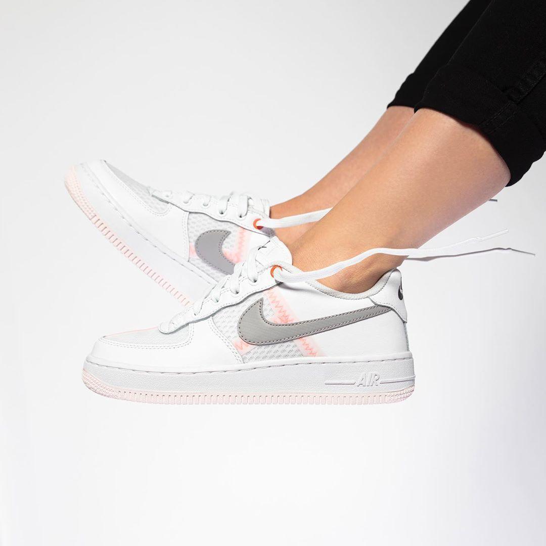 Nike Air Force1 Lv8 Kinderschuh Weiss Nike Air Force Nike Air Sneaker