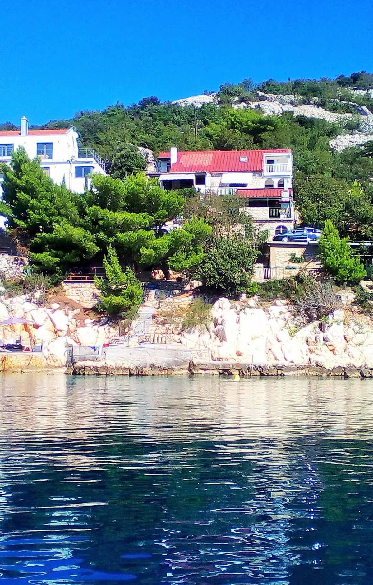 Kroatien Dreams direkt am Meer Ferienhaus kroatien am