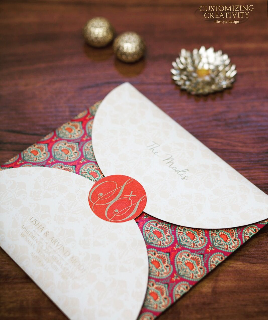 Wedding Invitation Cards Indian Invites Stationery Customized Invitations Custom Designer