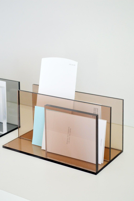 DIY Marble & Plexiglas / Acrylic Desk Accessory by Kristina ...